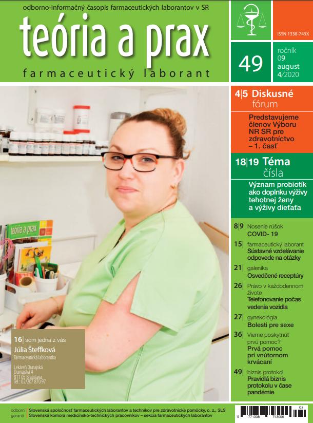 Teória a prax farmaceutický laborant 49/2020